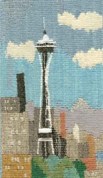 Space-Needle Tapestry